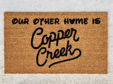 Load image into Gallery viewer, DVC Copper Creek doormat