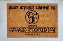 Load image into Gallery viewer, DVC Grand Floridian doormat