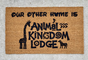 DVC Animal Kingdom Lodge doormat