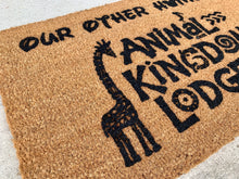 Load image into Gallery viewer, DVC Animal Kingdom Lodge doormat