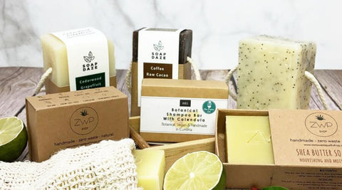Plastic free Soap alternatives