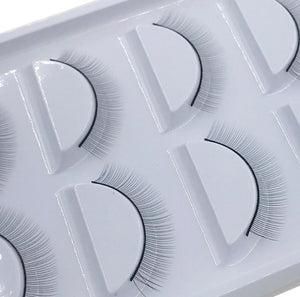 10 pairs of training practice lashes