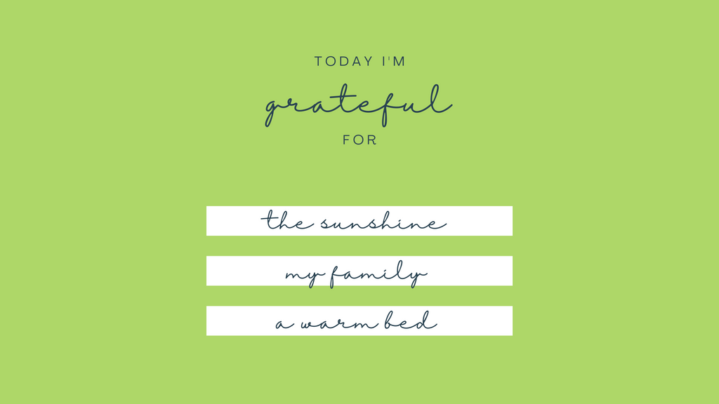 Confidence through Gratitude
