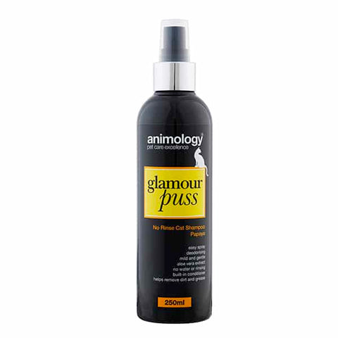 Shampoing Glamour Puss No Rinse Cat Animology