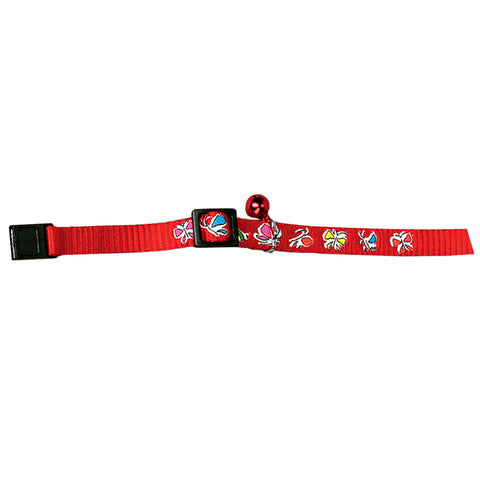 Collier Papillon rouge Josty