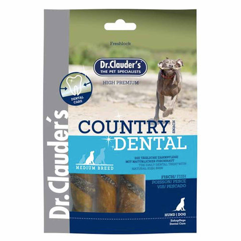 Country Dental Snack peau de poisson Dr. Clauder's