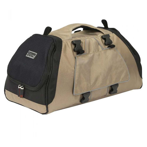 Sac Jet Set beige & noir PetEgo