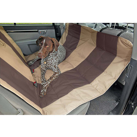 Protection voiture Hammock beige & brun PetEgo