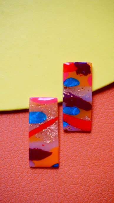 Autumn Watercolour Bar Studs Studio Ides