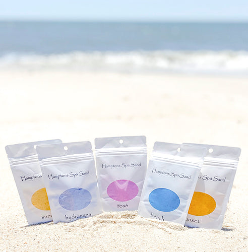 Hamptons Spa Sand artisanal bath salts