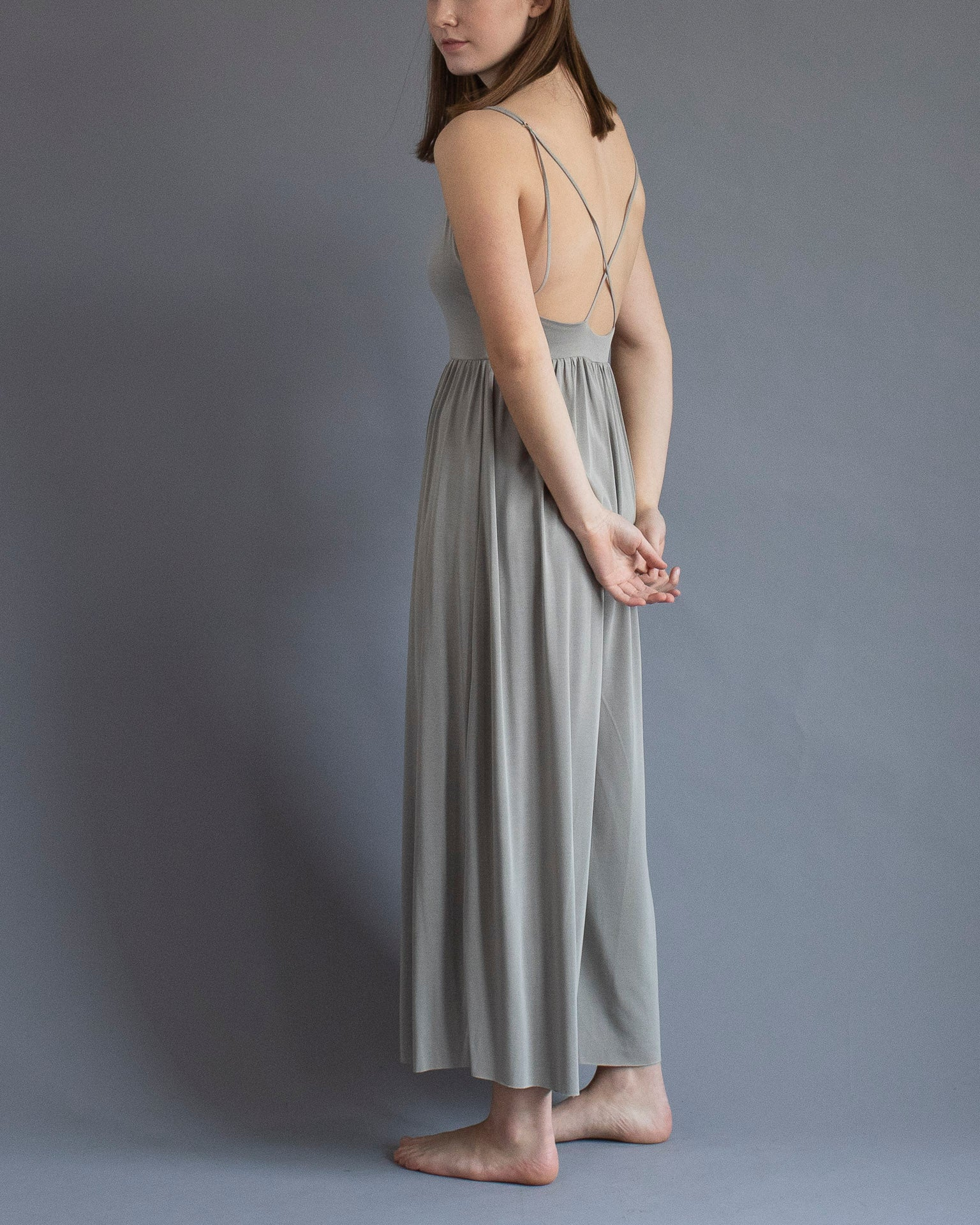 The Soft Grey Jumpsuit