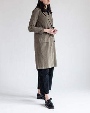 Flap Pocket Overcoat