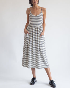 Simple Stripes Summer Dress