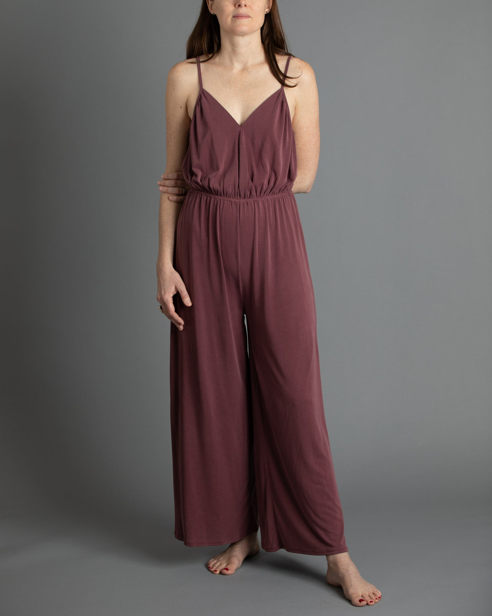 Smooth as Silk Jumpsuit