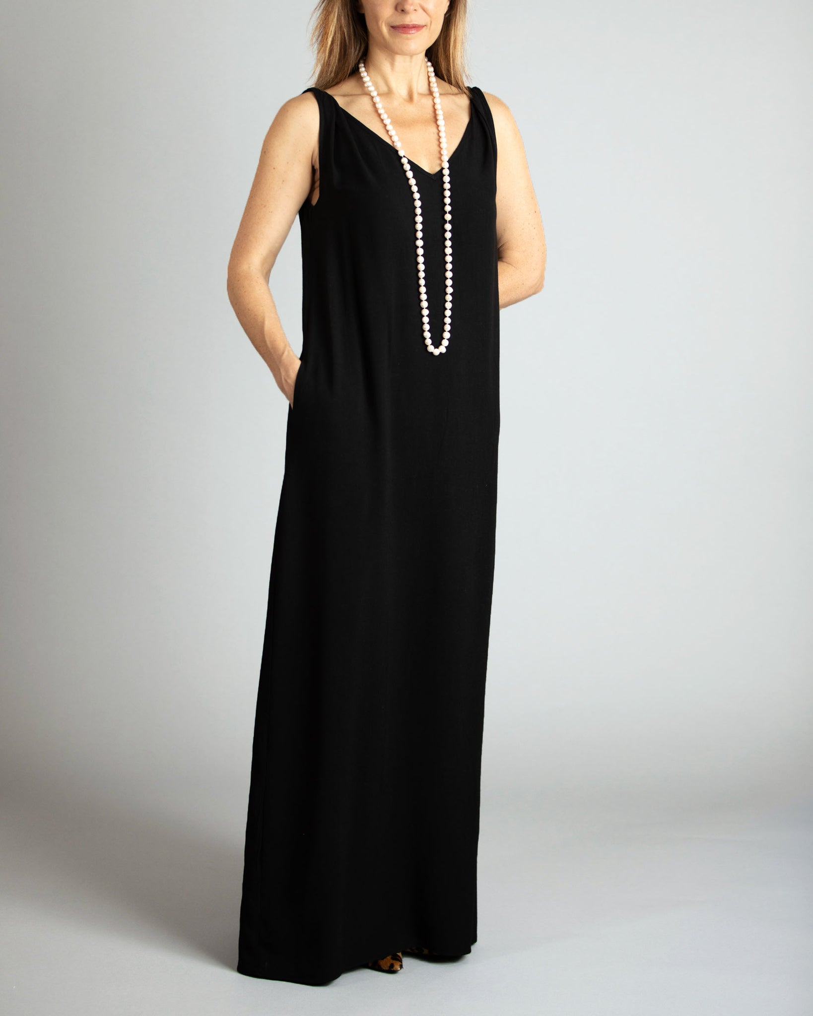 Timeless Black Maxi Dress