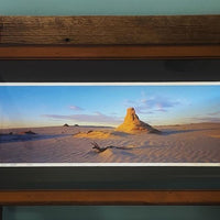 Framed photo in the Desert