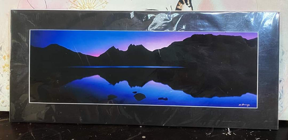 Unframed Photo of Mountains & Lake