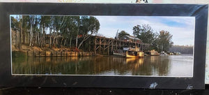 Unframed Photo of Paddlesteam at Echuca Wharf