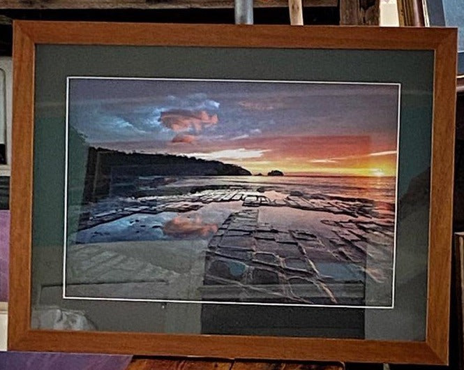 Framed photo Ocean