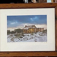 Framed photo Hut in Snow