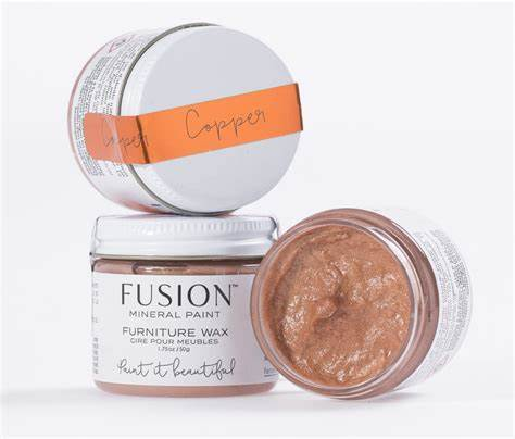 Copper Furniture Wax 50g - Fusion Mineral Paint