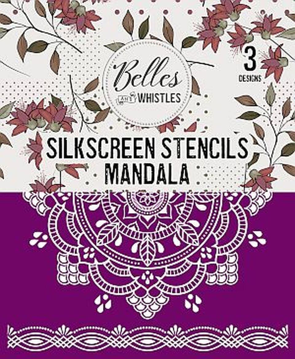 Mandala Silk Screen Stencil - Dixie Belle