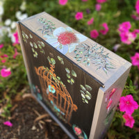 Keepsake box - Australian wildflowers