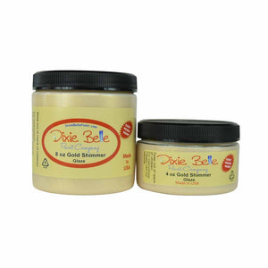 Gold Shimmer Glaze - Dixie Belle 118ml (4oz)
