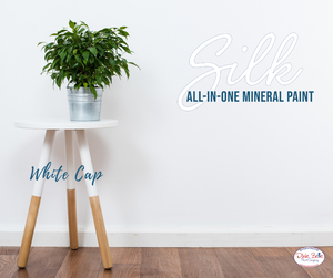 Whitecap - Silk All-In-One Mineral Paint - Dixie Belle 473ml (16oz)