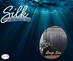 Deep Sea - Silk All-In-One Mineral Paint - Dixie Belle 473ml (16oz)