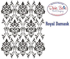 Royal Damask Stencil - Dixie Belle