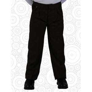 Boys Half Elastic School Trouser