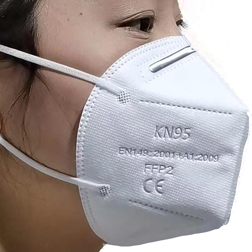 NOW IN! MASK 5 LAYER FILTRATION FACE MASK KN95-FFP2 WITH EAR LOOPS, ADJUSTABLE