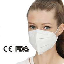 Load image into Gallery viewer, 400 Pack - KN95 FDA Approved Masks