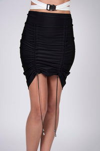 ADJUSTABLE BLACK SKIRT