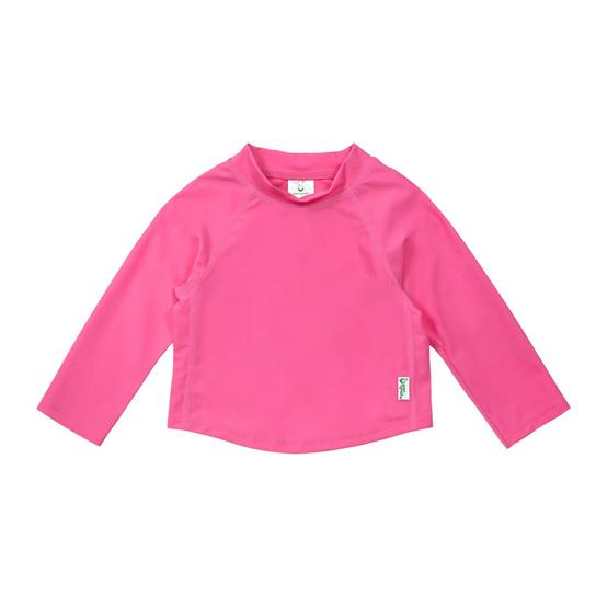 iPlay Long Sleeve Rashie Hot Pink