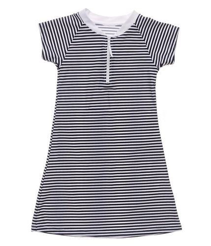 Nautical Stripe Dress Navy/Stripe