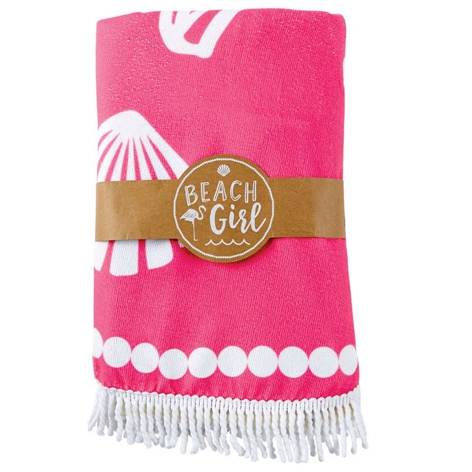 Mud Pie Flamingo Beach Blanket