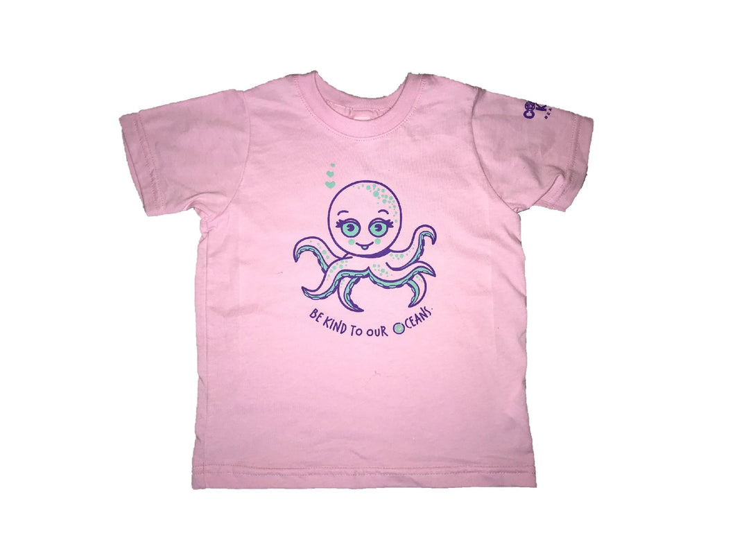 Coastal Kids Tee- Octopus