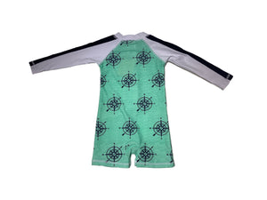 Snapper Rock Long Sleeve Sunsuit