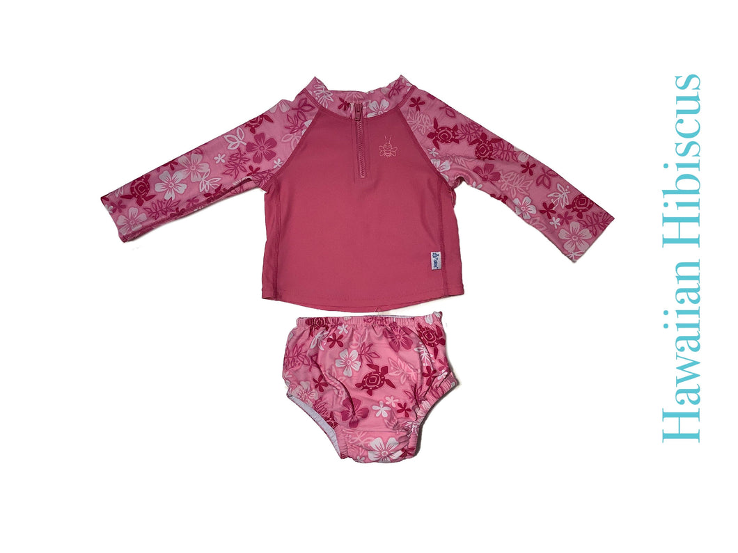 iPlay 2 Piece Rashguard Diaper Set