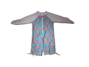 Snapper Rock Flamingo Social Sunsuit