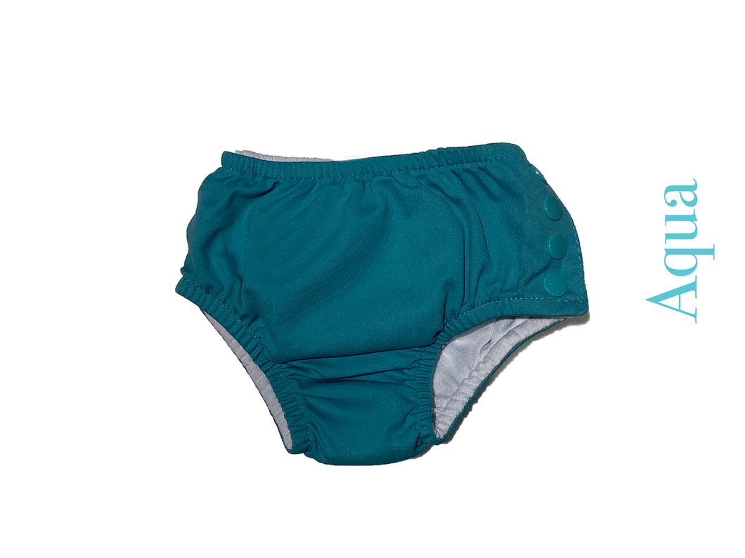 iPlay Reusable Swim Diaper Aqua