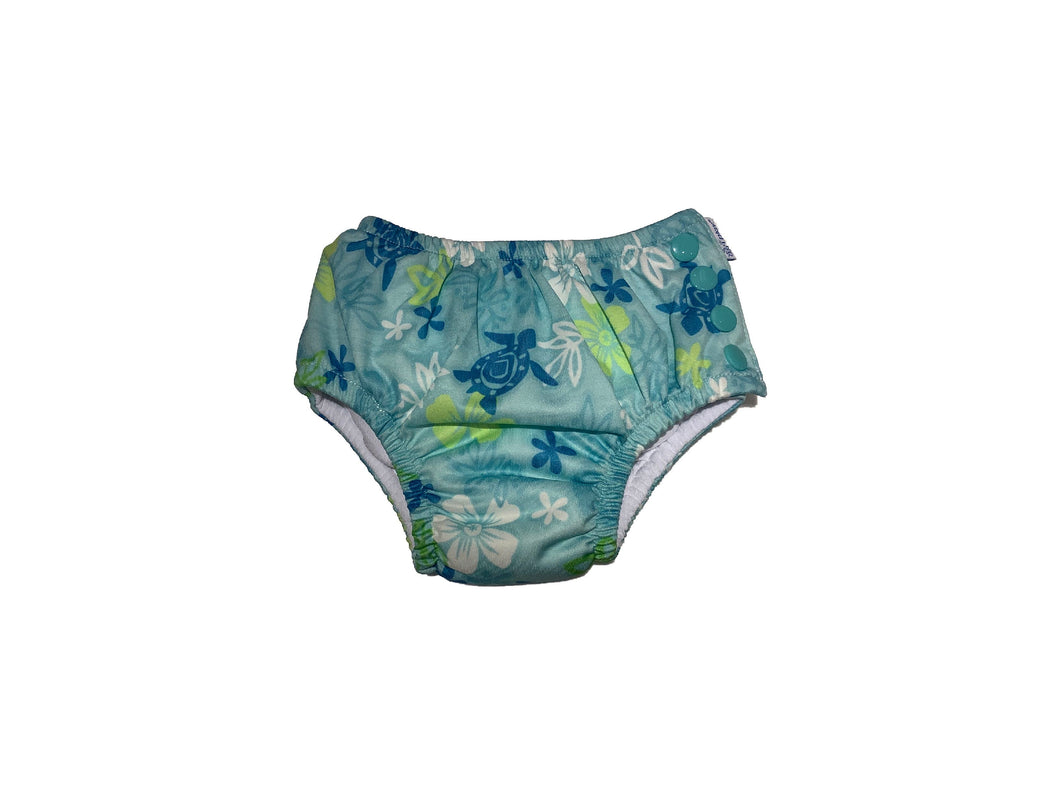 iPlay Reusable Swim Diaper Hawaiian Turtles