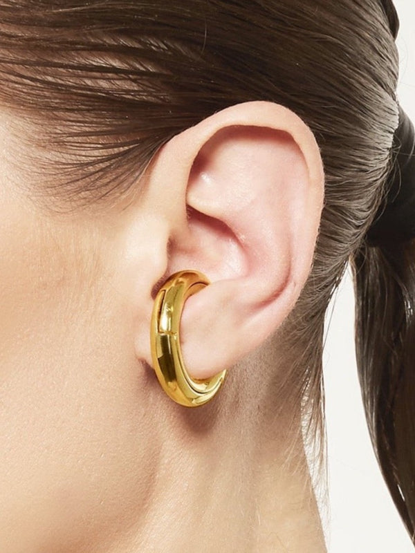 Puzzle 3 Earcuff Gold Plated
