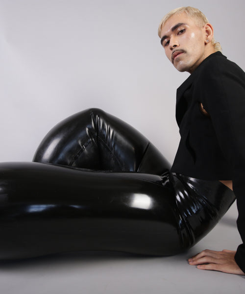 Black Limo Inflatable Trousers