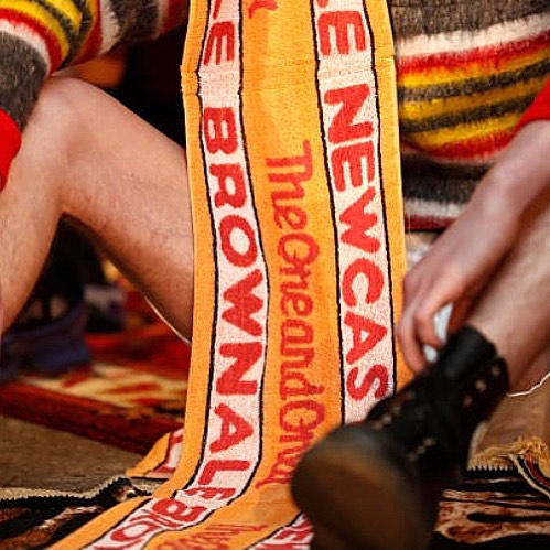 Newcastle Brown Ale Scarf