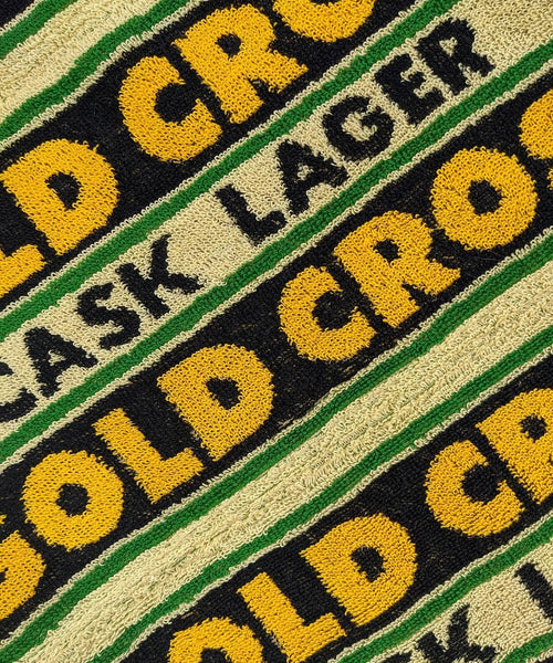 Gold Cross Scarf