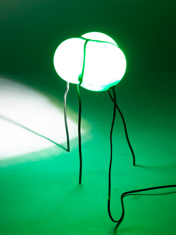 Bubble Lamp Light Green