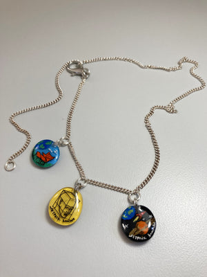 Jetpack Hom(m)e®-Multi-Charm Adjustible necklace-APOC STORE